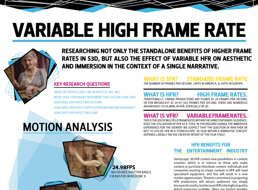 An exploration into the creation of variable frame rate (VFR ...