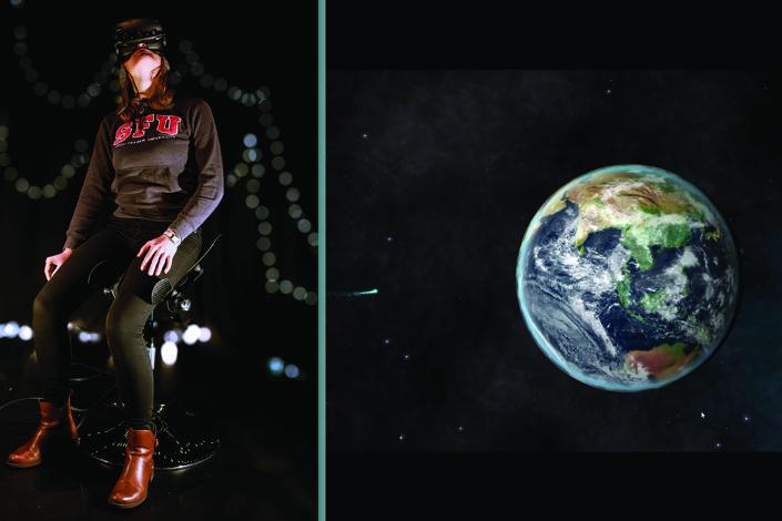 Participant and Earth screenshot