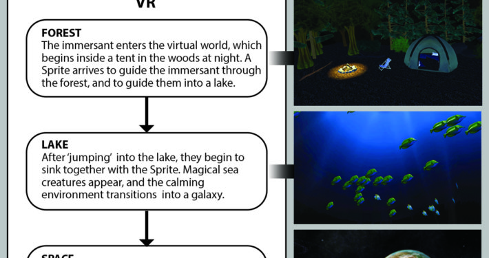 Immersant journey across all physical and virtual environments